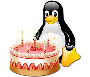 Вітаємо з днем народження Linux